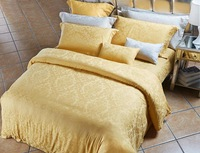 Best price bright-coloured home use 100% tencel jacquard bed sheet set