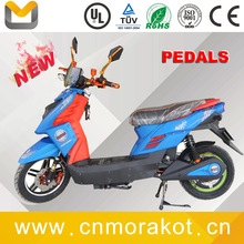 fashion powerful electric motorcycles / 60V 800W sports cruiser style adult electric scooter with pedals ---TTX