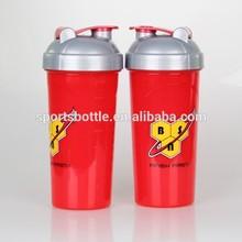Shenzhen Manufacturer 600ml PP plastic protein shaker bottle