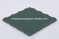Environment-friendly plsatic material badminton court flooring