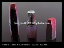 FT-LS0176 Special Dot Designed Rectangular ABS Lipstick Packaging