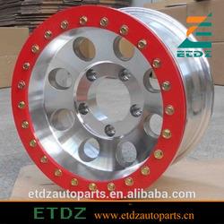red offroad 4x4 alloy alloy aliminium beadlock wheel