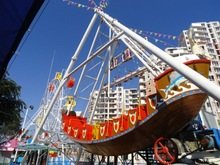 Long using life and exciting pirate ship viking amusement ride with low price