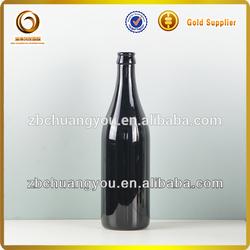Empty popular black water bottle liquid bottle