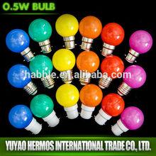 Elegant design 1w led color lamp