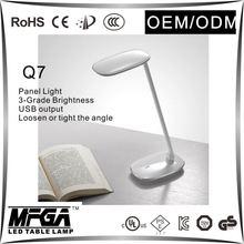 metal art table lamp