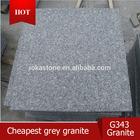 Chinese cheap grey granite,grey granite new G603 &G343, natural grey stone,