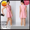 Turco ropa para mujeres encantadora mujer de color rosa el último vestido patrón
