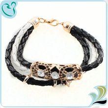Top Sale Handmade Leather Bracelet Punk Style Snake Leather Bracelet