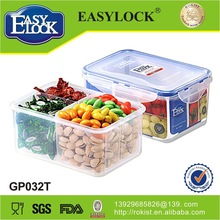 Popular plastic food container 2 compartments