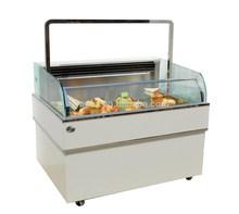 APEX custom make open type refrigerated salad bar/bar table cooler/salad bar cooler