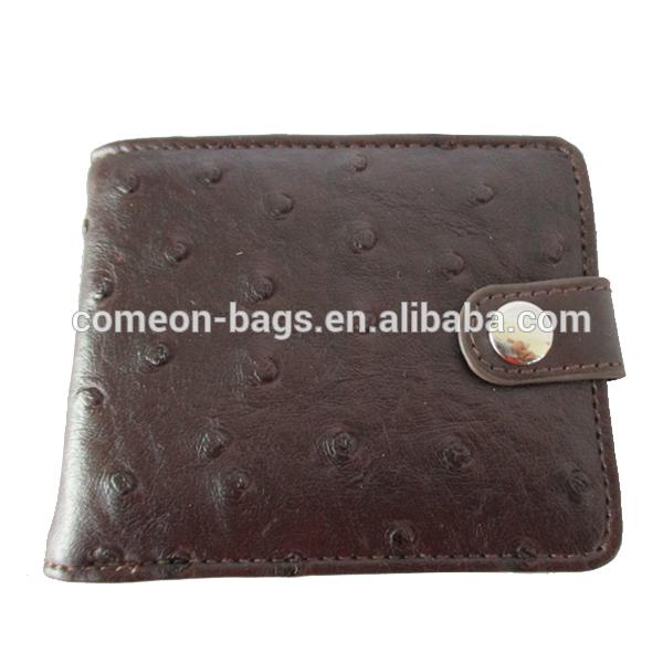 Ostrich Wallet Ostrich Leather Wallet