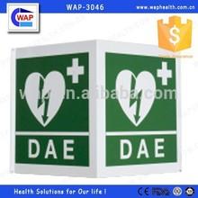 Trade Assurance WAP-health OEM&ODM service metal sign Flat/90 degree/3D shape option