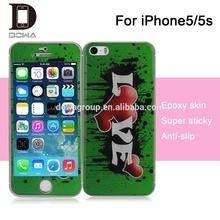 epoxy gel skin for iPhone5/5s , cellphone gel skin