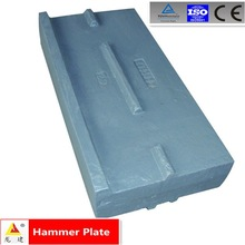 Hot sale impact crusher parts (hammer plate)