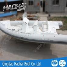 6.8m luxury inflatable rib sightseeing boat