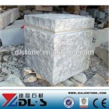 Parking Granite Stone Pillars Tiles