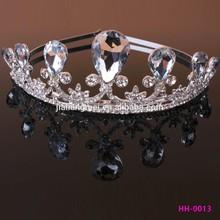 alloy tiara Crystal rhinestone Bridal Headpieces Accessories Bridal Tiara