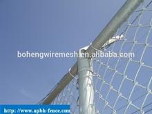 Hot Galvanized Galvanized Chain Link Fence