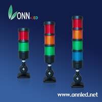 Warning Tower Light/LED Singal Tower Light/Light Tower ONN-M4 Multi-Layer&Colors Buzzer&Flash Warning Light