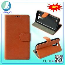 Original Wholesale Custom Flip Cover Leather Wallet Case for lg t375