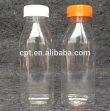 ที่มีคุณภาพสูงพลาสติก300mlสัตว์เลี้ยงขวดน้ำผลไม้รอบ