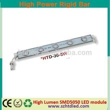 samsung led high power rigid bar,dimmer 5pcs led light bar