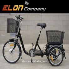 2015 new steel frame lithium battery 3 wheel electric bike