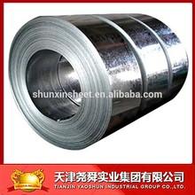 SGCC DX51D galvanized steel strip coil cold rolled