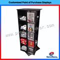 De haute qualité coutume 5- 2» vêtements en métal stand de magasin de détail