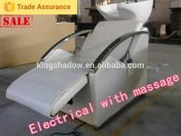2015 New Design salon hair wash chairs professional baby spa shampoo chair cheap electric shampoo chair