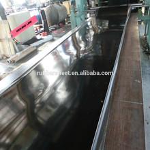 Plate finished Black NBR nitrile rubber sheet