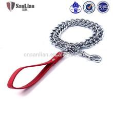 Custom metal chain dog pet training leash pet chain