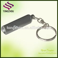 Promotion mini led flashlight/led mini flashlight/keychain flashlight with logo