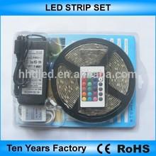 5M RGB strips+power supply+controller led strip set