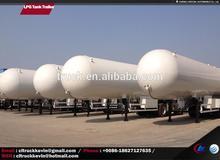 New design LPG tank truck with CE certificate LPG tank truck
