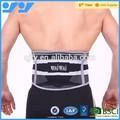 la parte posterior elástico cinturón de soporte para los deportes de tiro