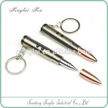 2015 led flashlight short metal laser bullet pen