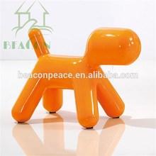 2015 Children Fiberglass Dog shaped chair