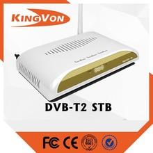 hd dvb t2 FTA standard digital tv set top boxes with free sample
