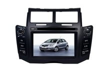 YZG 6.2'' special double din car dvd gps for toyota yaris