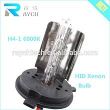 China factory supply 12v 35w 6000K hid xenon bulb H4 xenon h4 bulb