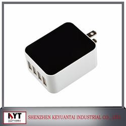 24w 5V4.8A quad charger