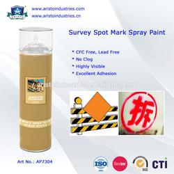 High Visibility/No Clog Survey Spot Mark Spray Paint