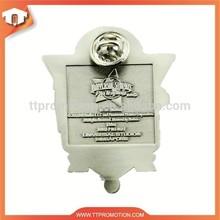 The cheapest promotional customized pin badge/metal pin badge/enamel pin badges