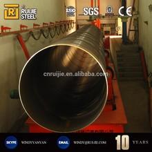DIN EN 10220 HIGH-STRENGTH SPIRAL WELDED STEEL PIPE/TUBE