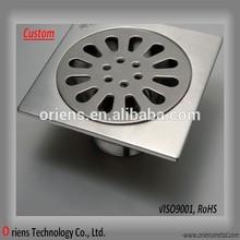 customized stainless steel floor drain strainer