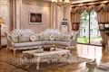 china ls083 luxo branco madeira esculpida italiano antigo em forma de l seccional antigo chesterfield sofá da sala de mobiliário barroco