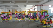 electric train of kiddie rides for children park amusements rides electric train for sale