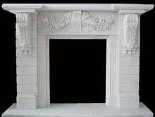 Natural Stone Marble Fireplace Surrounds and Mantels
